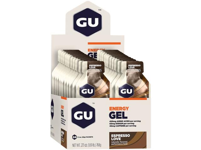 GU Energy Gel Box 24x32g, Espresso Love (2019) | Energy gels
